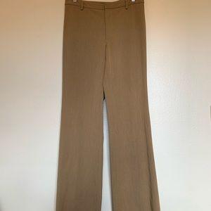 Banana Republic Tan Work Trousers. Size 2Long
